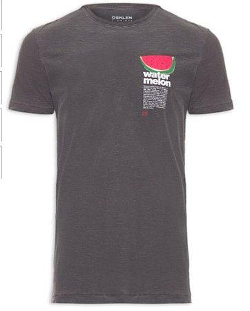 Camiseta Osklen Rough Watermelon Fruit