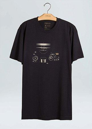 Camiseta Osklen Regular Vintage Camera