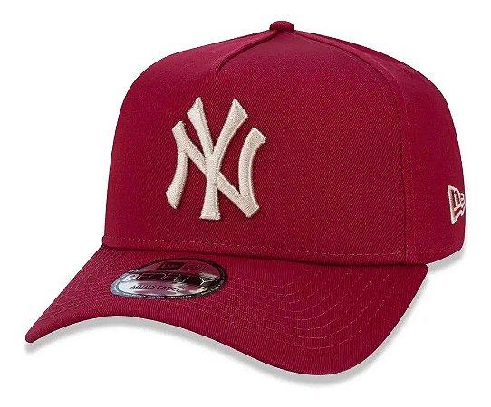 Boné New York Yankees 940 Veranito Bordô