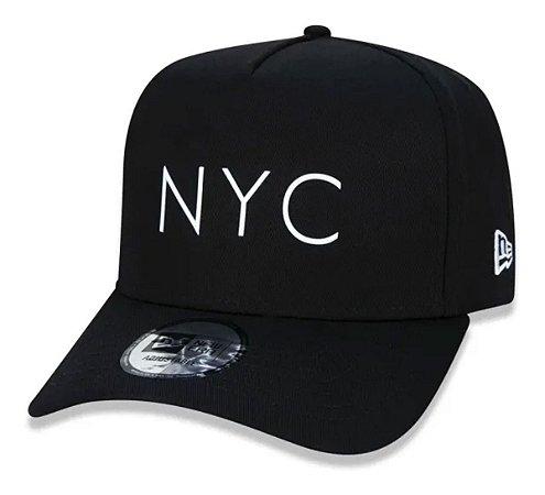 Boné New Era 9Forty K-Frame NYC Preto