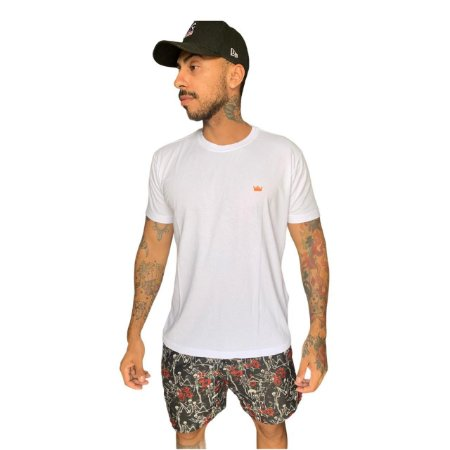 Camiseta Osklen Slim Vintage 2 irmãos masculina
