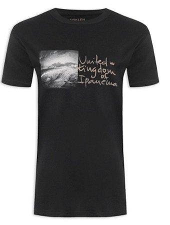 Camiseta Osklen Slim Vintage UKI Double Exposure