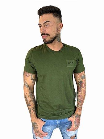 Camiseta Ellus Cotton Fine Timeless Brand Classic