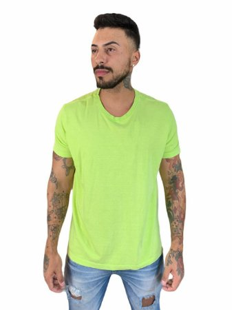 Camiseta Ellus Second Floor Washed Fluor