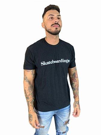 Camiseta Osklen Linen Skateboarding
