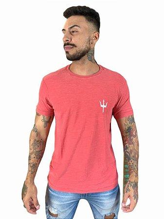 Camiseta Osklen Slim Rough Tridente