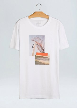 Camiseta Osklen Slim Stone Beachs Pics