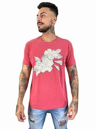 Camiseta Osklen Stone Classic Flowers