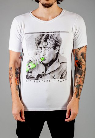 Camiseta Red Feather Like a Beatles