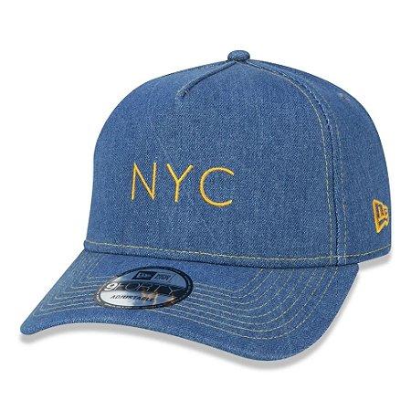 Boné New Era New York A-FRAME MLB NEW ORIGINAL DENIM NYC