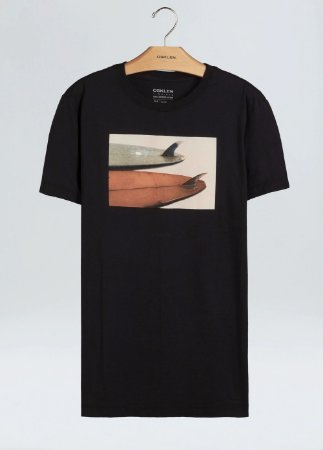 Camiseta Osklen Slim Vintage Two Boards