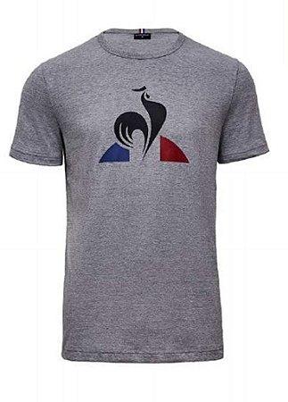 Camiseta Le coq Sportif T-Shirt Ess  N.7 M Masculino Cinza