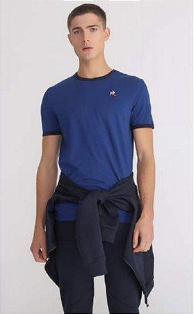 Camiseta Le coq Ess Tee Bicolore N°1 Masculina
