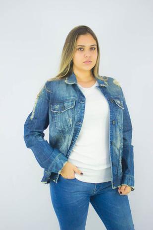 Jaqueta Ellus Jeans Bomber Okawa Tiger Feminino