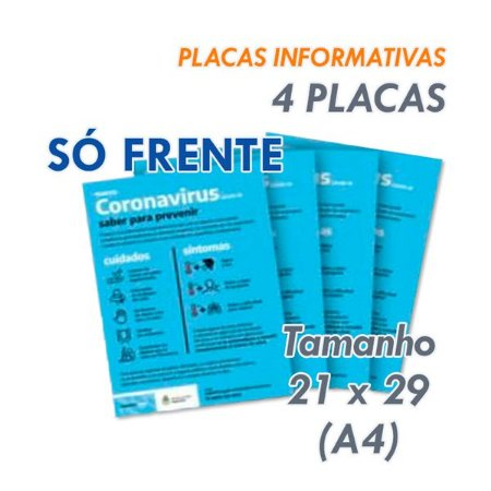 Placas Informativas