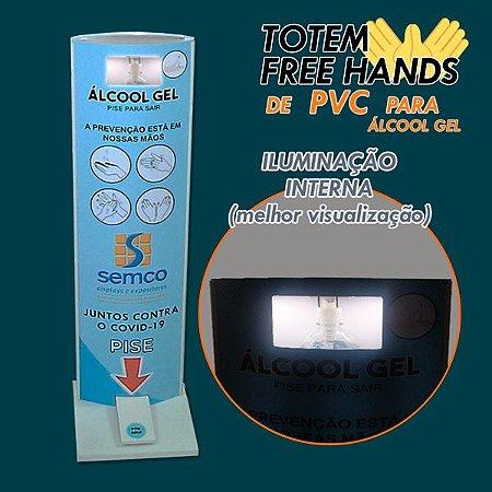 Iluminação Interna p/ Totem Higienizador