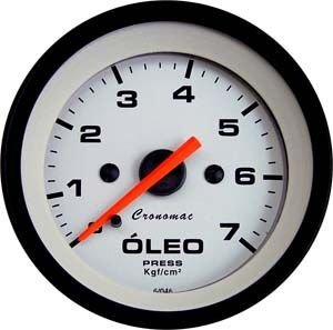 Pressão de Óleo 52mm/Mec./7kg - Street