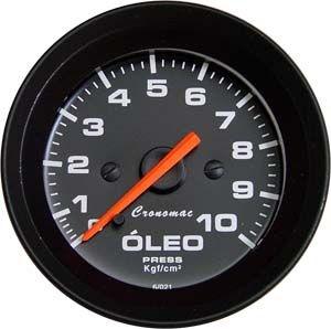 Pressão de Óleo 52mm/Mec./10kg - Street