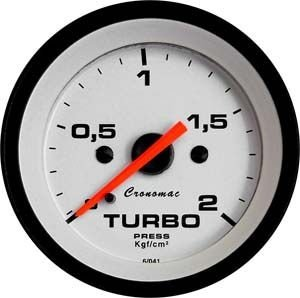 Pressão do Turbo 52mm/Mec./0-2Kg - Street