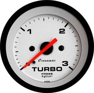 Pressão do Turbo 52mm/Mec./0-3Kg - Street