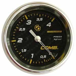 Pressão de Combustível 60mm/Mec./4kg - Carbono