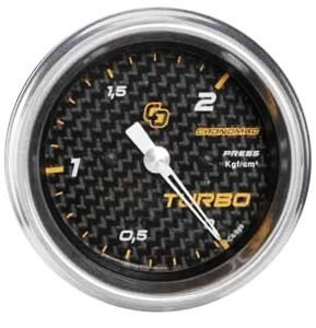 Pressão do Turbo 52mm/Mec./0-2Kg - Carbono
