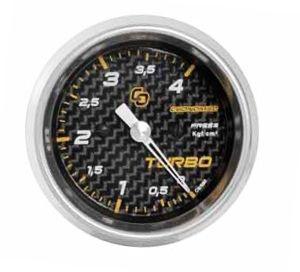 Pressão do Turbo 52mm/Mec./0-4Kg - Carbono