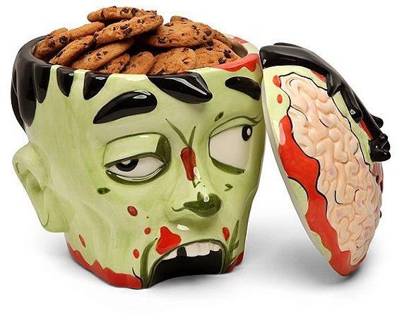 Jarro de Biscoitos - Zumbi Head