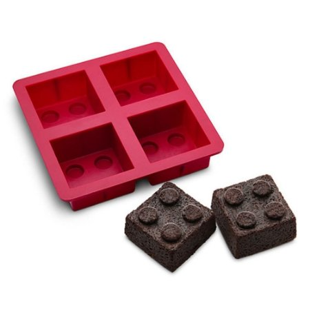 Forma de Silicone - Blocos de Montar 2x2