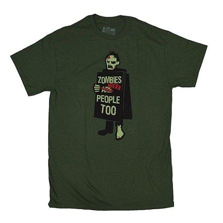 Camiseta - Zombie Protest