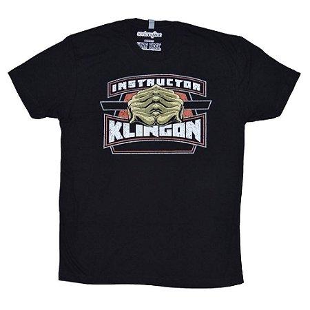 Camiseta - Klingon Instructor