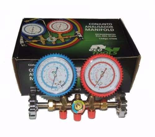 Manifold para Ar Condicionado R22 R410 R12 R404