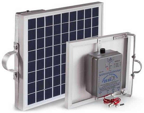 Cerca Elétrica Solar com Placa Zebu Zs50i - Eletrificador Rural com Placa Solar