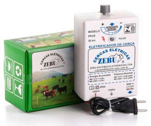 Cerca Elétrica Rural Ppcr 35 km - Eletrificador de Cerca Zebu