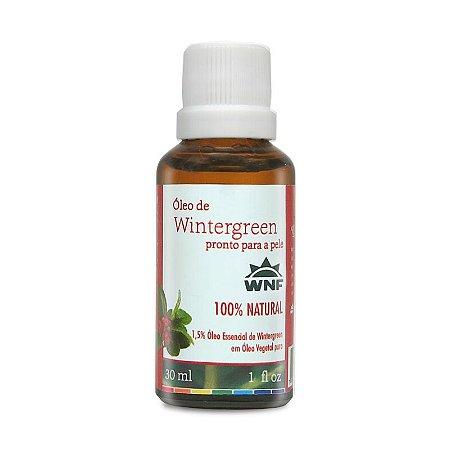 Óleo de Wintergreen pronto para pele – 30ml
