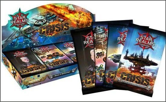 Star Realms - Crisis (4 boosters)