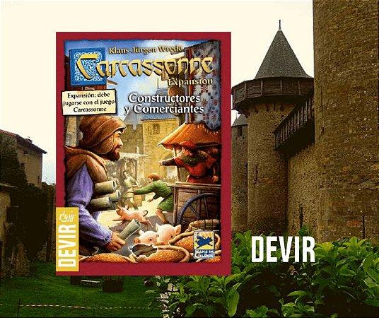 Carcassonne - Comerciantes e Construtores