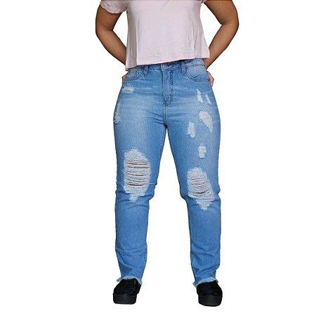 Calça Jeans AÉROPOSTALE Destroyed Feminino