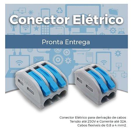 Conector Elétrico - Derivação, emenda