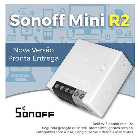 Sonoff Mini R2 - Nova versão do Interruptor Wifi - Automação Residencial - Instalação Three Way