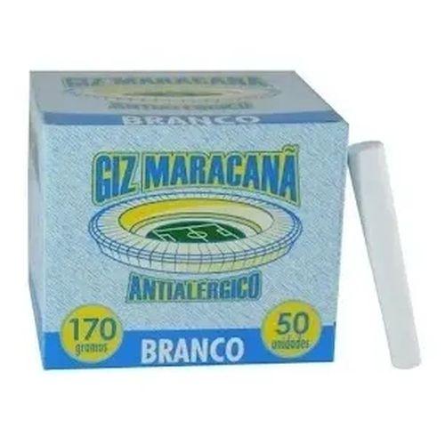 Giz maracanã antialérgico 50 uni Branco - Maracanã