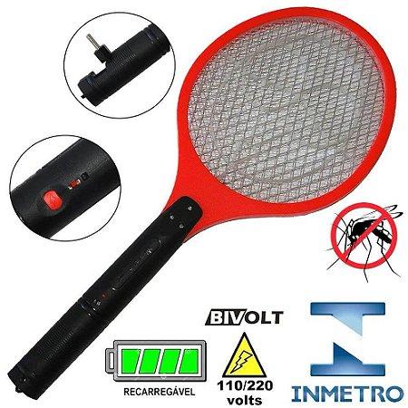 Raquete mata mosquito 220V Mz