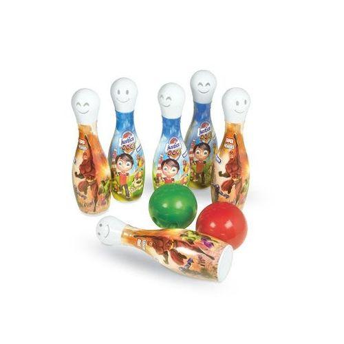 Super boliche divertido masculino c/ 8 peças - Brinquemix
