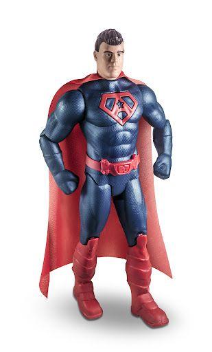 Boneco super herói avante - Brinquemix