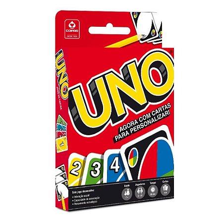 Jogo de cartas Uno para personalizar - Copag