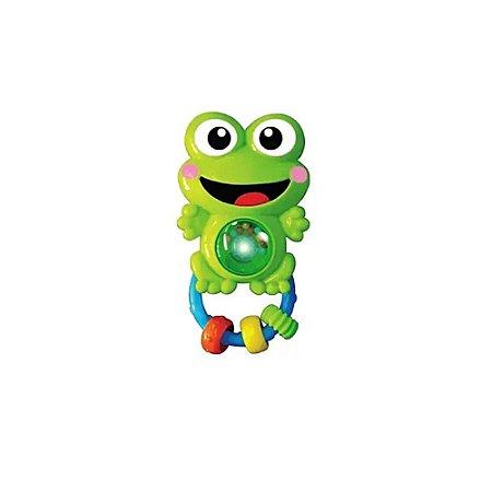 Chocalho bichinho sapo- BBR toys