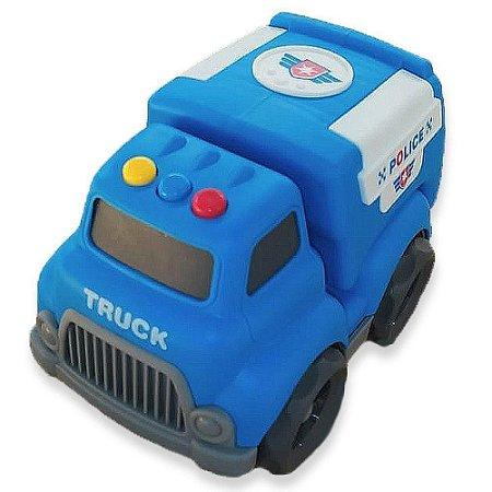 Caminhãozinho de bombeiro, de lixo ou Policial - BBR toys