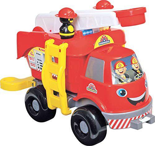 Caminhão bombeiro com som - Mercotoys