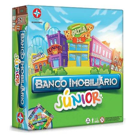 Banco imobiliário júnior jogo de tabuleiro - Estrela