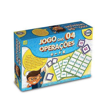 Jogo das 04 operações - Toia Brinquedos